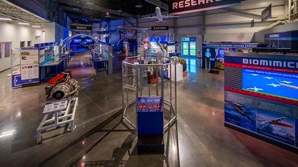 Aerospace Exhibition, Education Center Opens