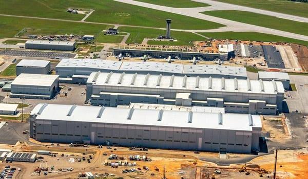 Airbus Completes Massive Hangar