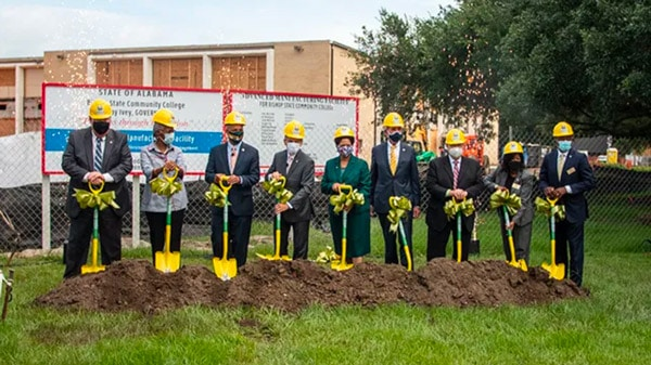 Bishop State Breaks Ground On Advanced Manufacturing Center
