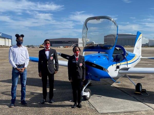 B.C. Rain Builds Alabama's First High School Plane