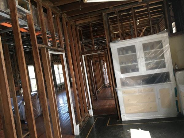 Rebuilding Underway at Holmes Medical Museum In Foley