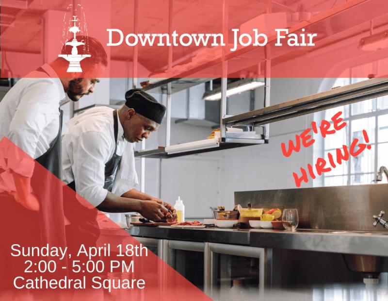 Downtown Job Fair This Weekend