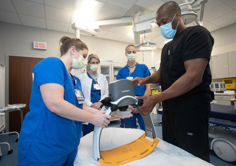 USA Health Has New Automated CPR Device