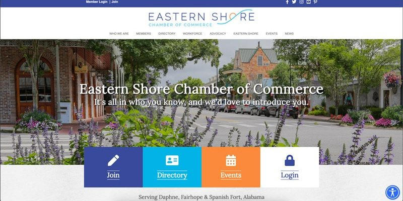 Eastern Shore Chamber Launches Website, Announces Summit